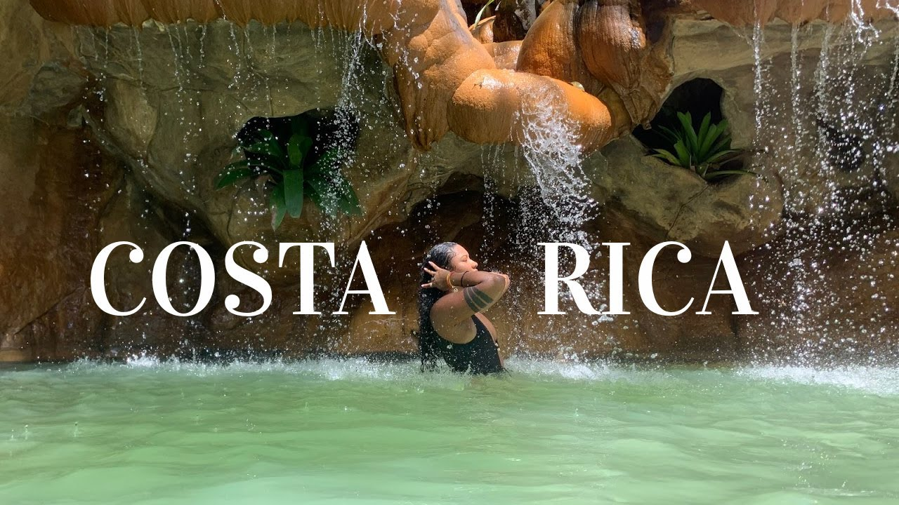 A Day in La Fortuna, Costa Rica! | The Springs Resort | Mini Vacation Vlog