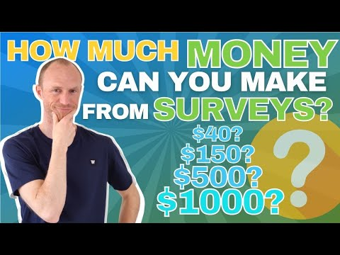 How Much Money Can You Make from Surveys? (Insights from REAL Survey Taker)
