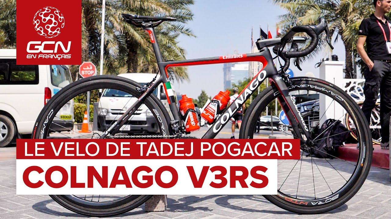 Le Colnago V3R de Tadej Pogacar - UAE Team Emirates 2020 | Vélo des pros