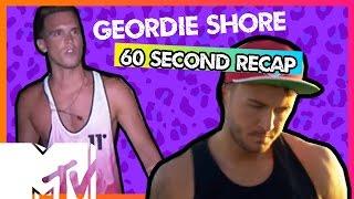 GEORDIE SHORE SEASON 11   EPISODE 7 IN 6O SECS!!   MTV
