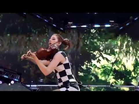 Lindsey Stirling Lollapalooza 2016 Something Wild ft. Andrew McMahon