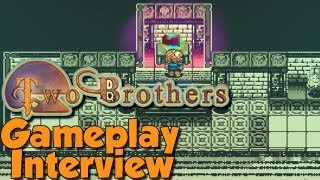 Two Brothers Gameplay and an Interview with Developer Andrew Allanson
