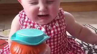Funny baby mast video