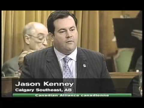 Canadian politician Jason Kenney angrily defends George W. Bush as Iraq War begins - March 20, 2003