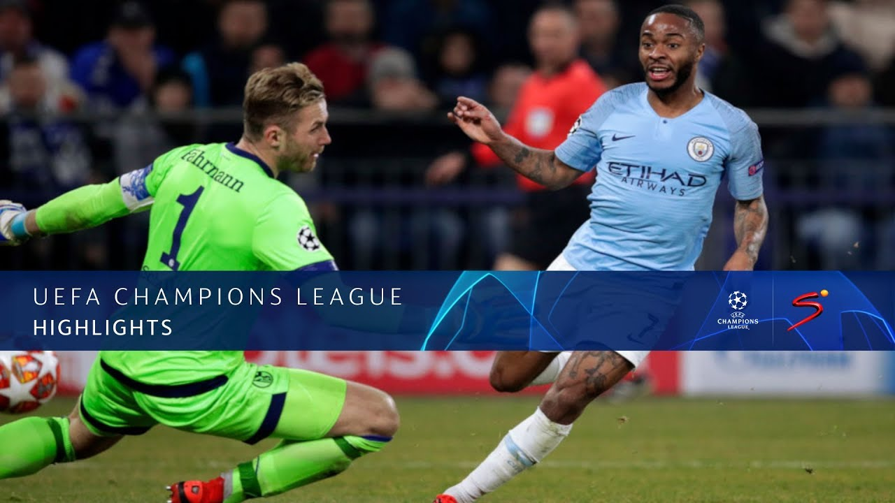 UEFA Champions League | Schalke 04 vs Man City | Highlights