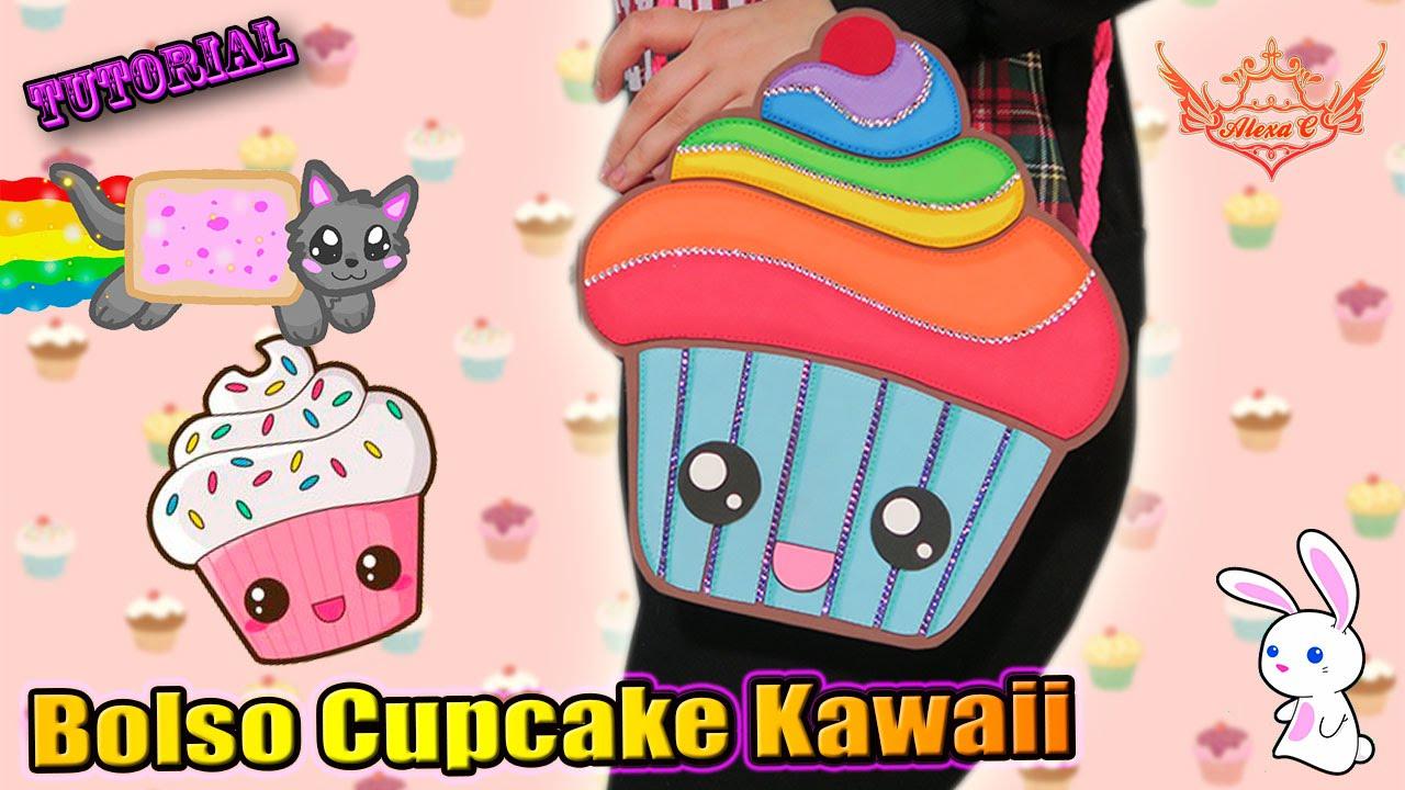 Tutorial bolsito de cupcake kawaii de goma eva foamy for Cosas de goma eva