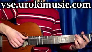 vse.urokimusic.ru Андрей Леницкий Только, как играть, аккорды, разбор. Школа обучения на гитаре