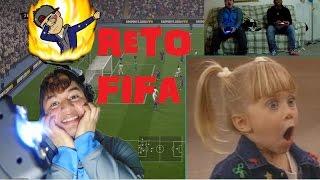 RETO FIFA!!! SHOCK ELECTRICO SI ME ANOTAN UN GOL! (ya vali madr)(FIFA CHALLENGE)