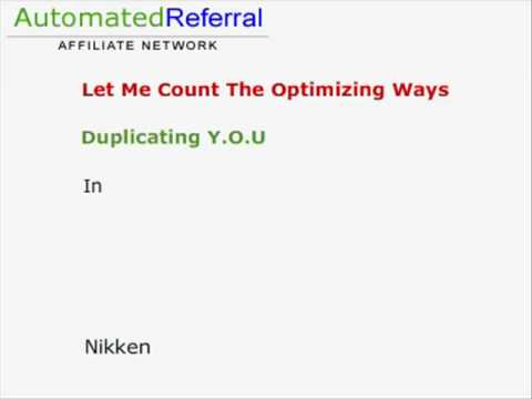 Automated Referral Lead Generation System For Traffic To Your Capture Pages