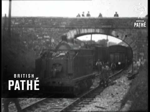 Train Disaster Scenes At Killester (1922)