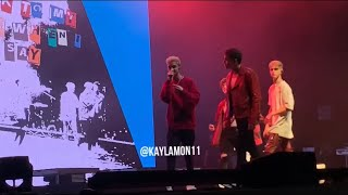 """Why Don't We 8 Letters Summer Tour """"I Still Do"""" Live Third Row Gilford, NH 8/8/19"""