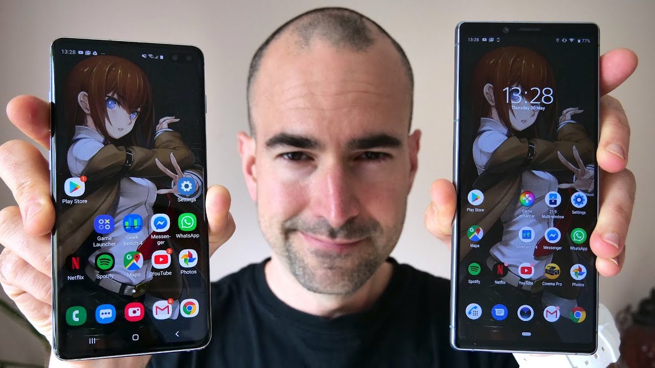 Sony Xperia 1 vs Samsung Galaxy S10 Plus | Side-by-side comparison