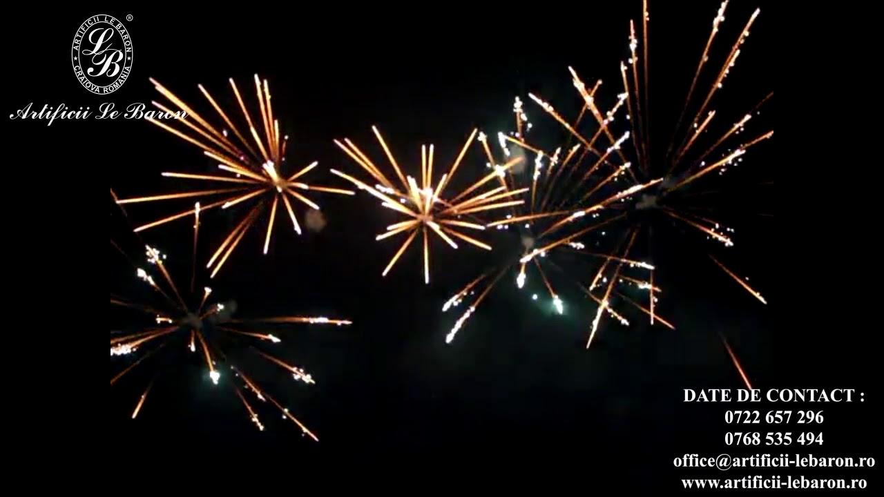 Revelion - Foc de artificii impresionant în   bogdanionescu.ro
