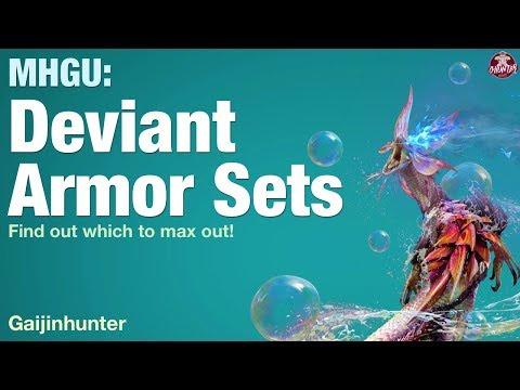 MHGU: All 18 Deviant Armor Sets