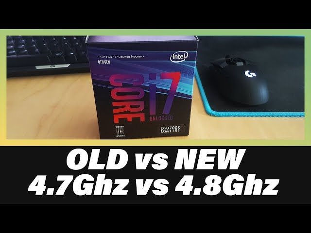 i7 3930k vs 8700k   The Battle of the Six-Core CPUs
