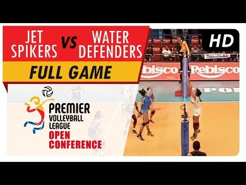 Jet Spikers vs. Water Defenders   WV Full Game   5th Set   PVL Open Conference   July 16, 2017