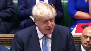 Johnson vows to deliver Brexit on first full day as U.K. PM