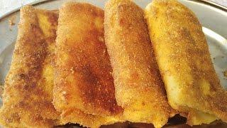 Bakina kuhinj- pohovane punjene palačinke (Stuffed fried pancakes)