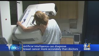 New research suggests ai may be better at diagnosing breast cancer.