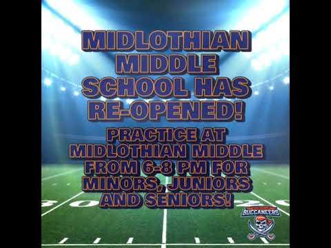Midlothian Middle School has Re-opened!