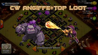 """Lets Play Clash of Clans #51 """"CW Angriffe-Loot Angriff """" [HD] GER/DEUTSCH"""