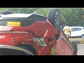 Maruti Baleno RS Latest Accident 2017