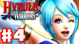 Hyrule Warriors - Gameplay Walkthrough Part 4 - Lana in Valley of Seers! Manhandla Boss! (Wii U)