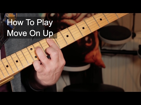 'Move On Up' Curtis Mayfield Guitar Lesson