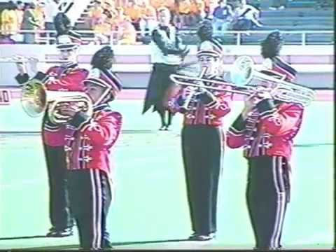 Karnes City High School Band - 1992 UIL Marching Contest - Starlight Express