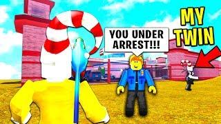 Diese COP verwechseltmich mit meinem TWIN CRIMINAL.. (Roblox)