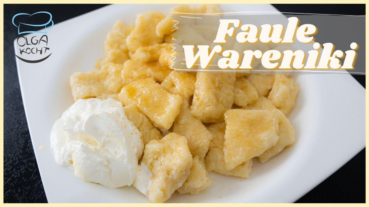 Faule Wareniki  - Russische Teigtaschen mit Frischkäse | Leniwije Wareniki