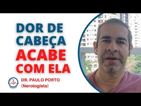 Acabe com a DOR DE CABEÇA - Aliviar DOR DE CABEÇA - Dr. Paulo Porto #dordecabeca