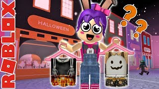 ROBLOX - Buying My Halloween Costume - Kawaii Mall