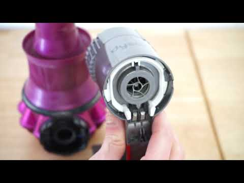 Complete Dyson V6 Stick Vacuum Disassembly For Cleaning