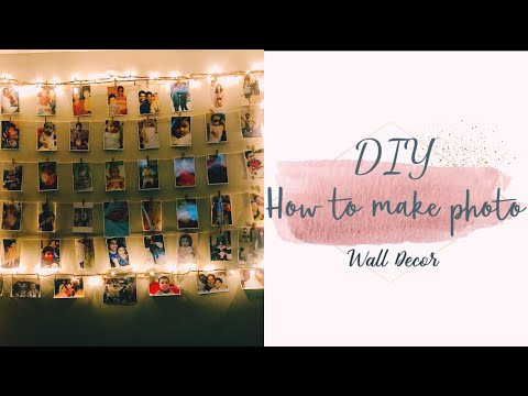 #Diy #walldecor with picture 😊