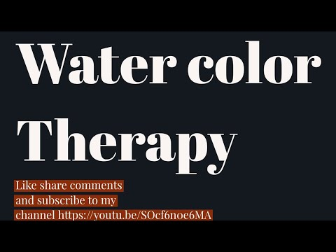 Water color Therapy by gaurav Sharma