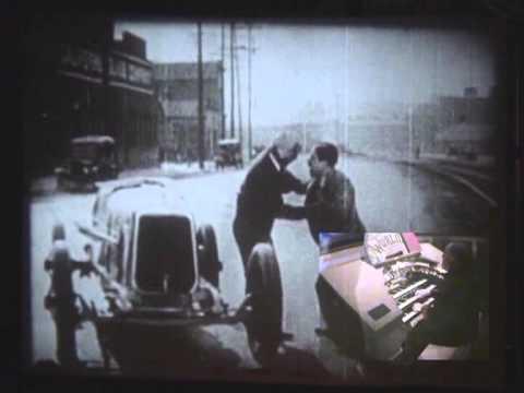 Silent Movie Theatre Organ -Love Rides the Rails-