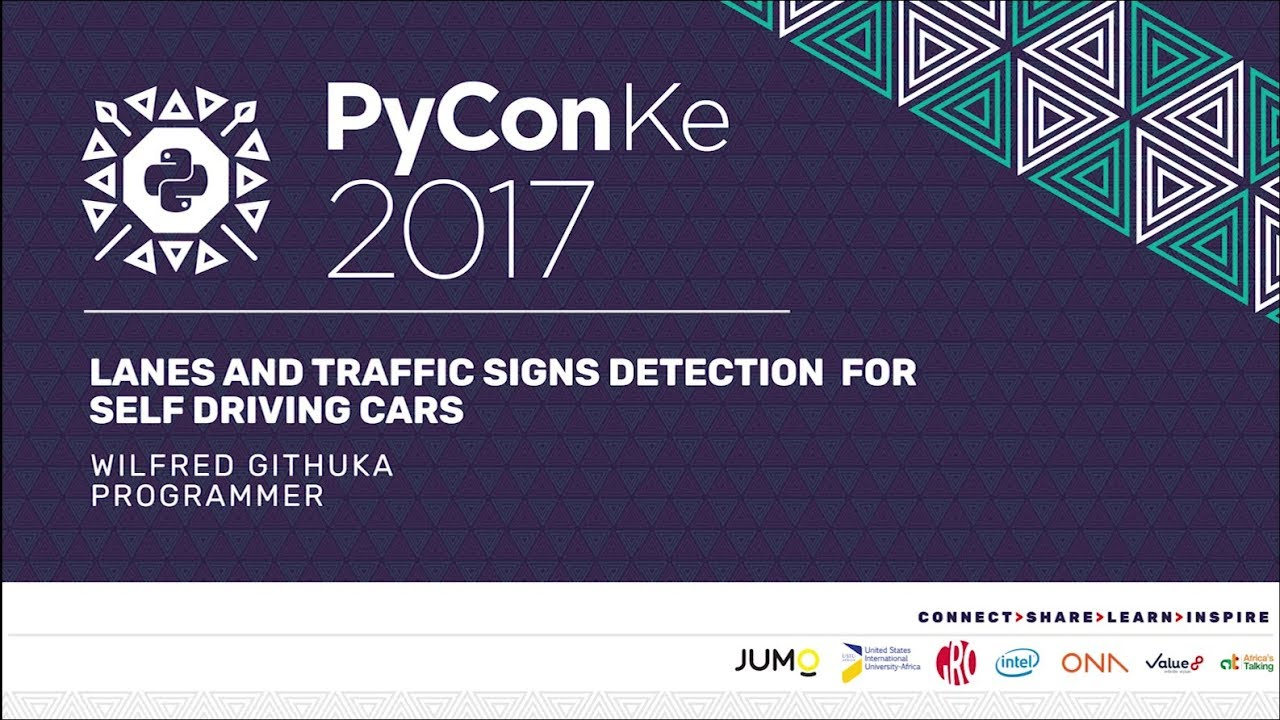 Image from PyCon-KE 2017 - Lanes and Traffic signs detection for self driving cars by Wilfred Githuka Gachugi