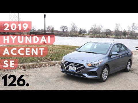 2019 Hyundai Accent SE | walk around, review, and test drive
