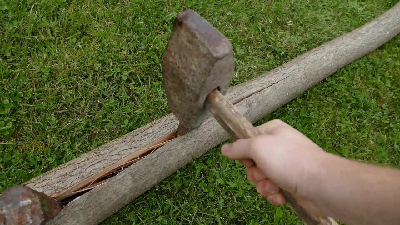 Jak przygotować drewno do zrobienia łuku