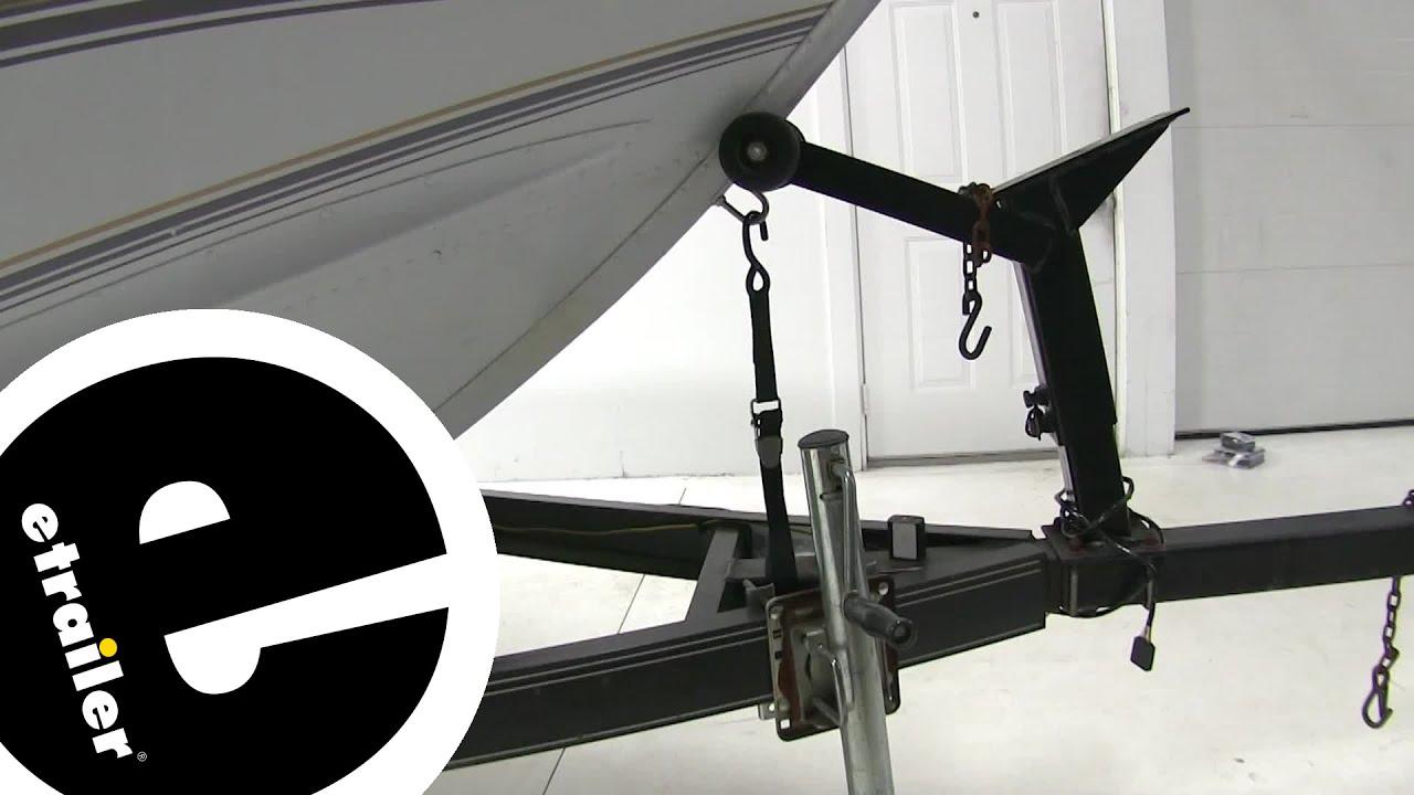 BoatBuckle Pro Series Kwik-Lok Bow Tie-Down Strap Review - etrailer com