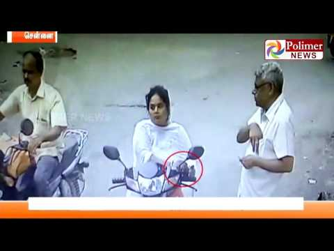 Chennai : Woman steals jewels using mesmerism,held | Polimer News | #Chennai