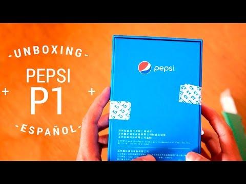 Pepsi Smartphone - Unboxing en español