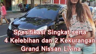 Spesifikasi Singkat serta 4 Kelebihan dan 2 Kekurangan Nissan Grand Livina