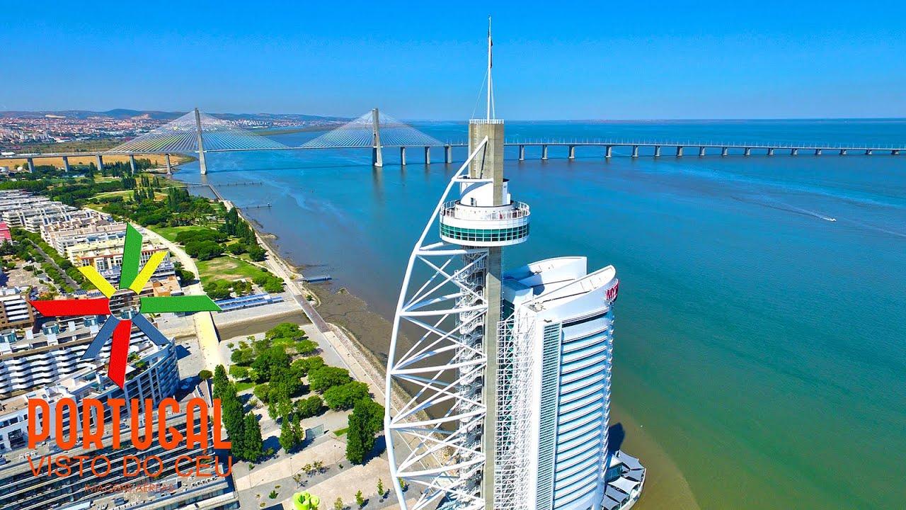 Lisbon Wallpaper Hd Lisbon Aerial Lisboa Vista Do C 233 U Parque Das Na 231 245 Es