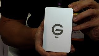 BSVP On-Site: G-Tech G-Drive ev SSD