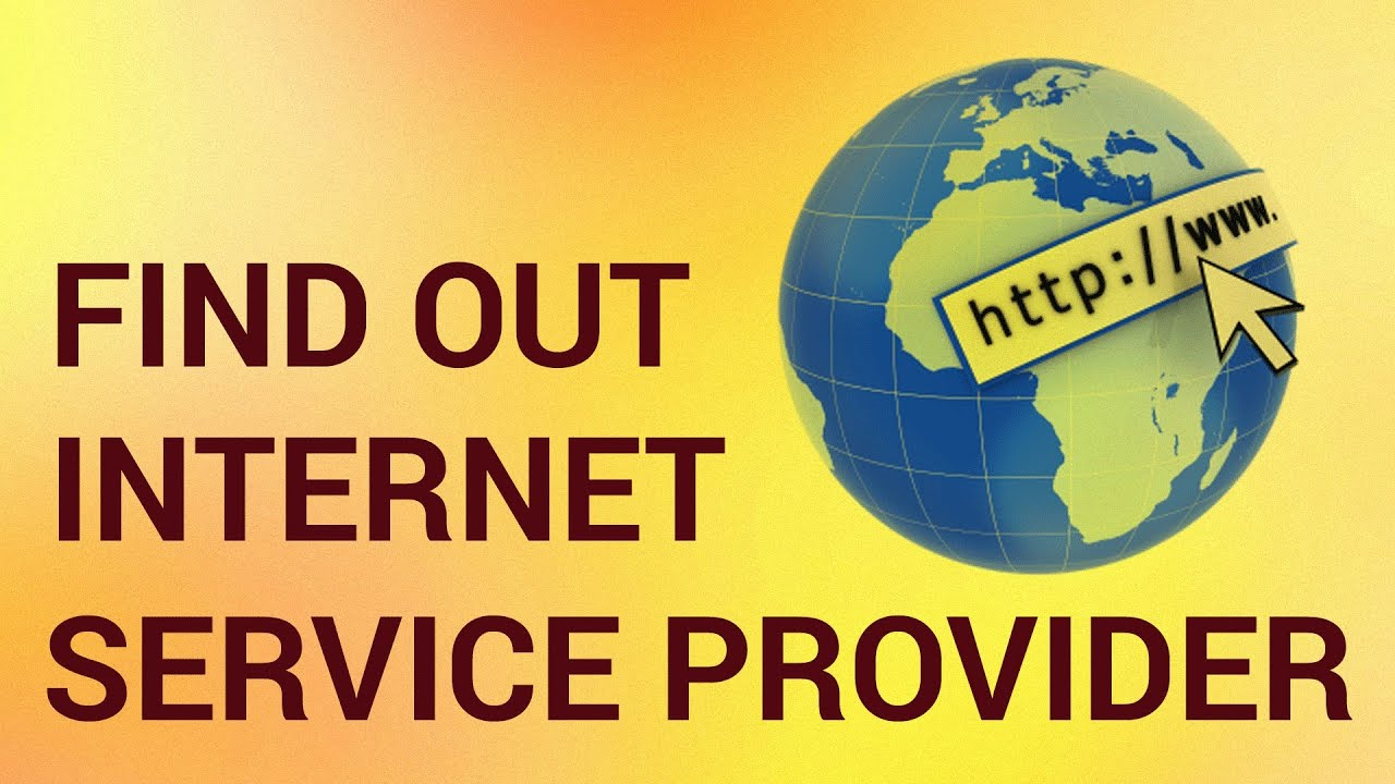 How to find out your provider 16