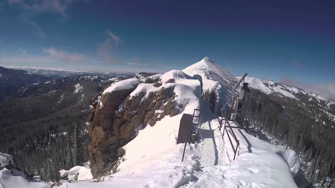 wolf creek ski resort, colorado - 2016 snowboarding highlights - hd