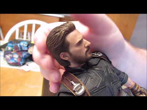 Hot Toys MMS 481  Infinity War Captain America Unboxing And Review!