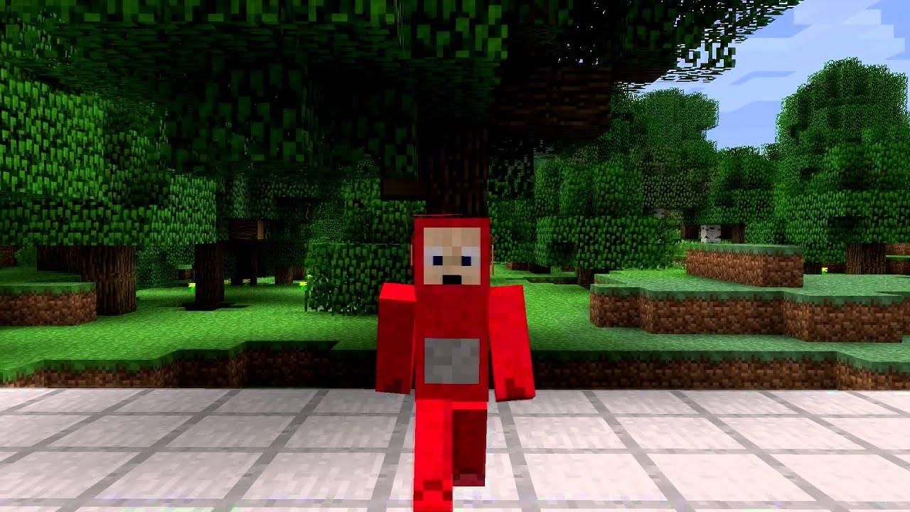 Po Teletubbie Minecraft Skin Spotlight - YouTube
